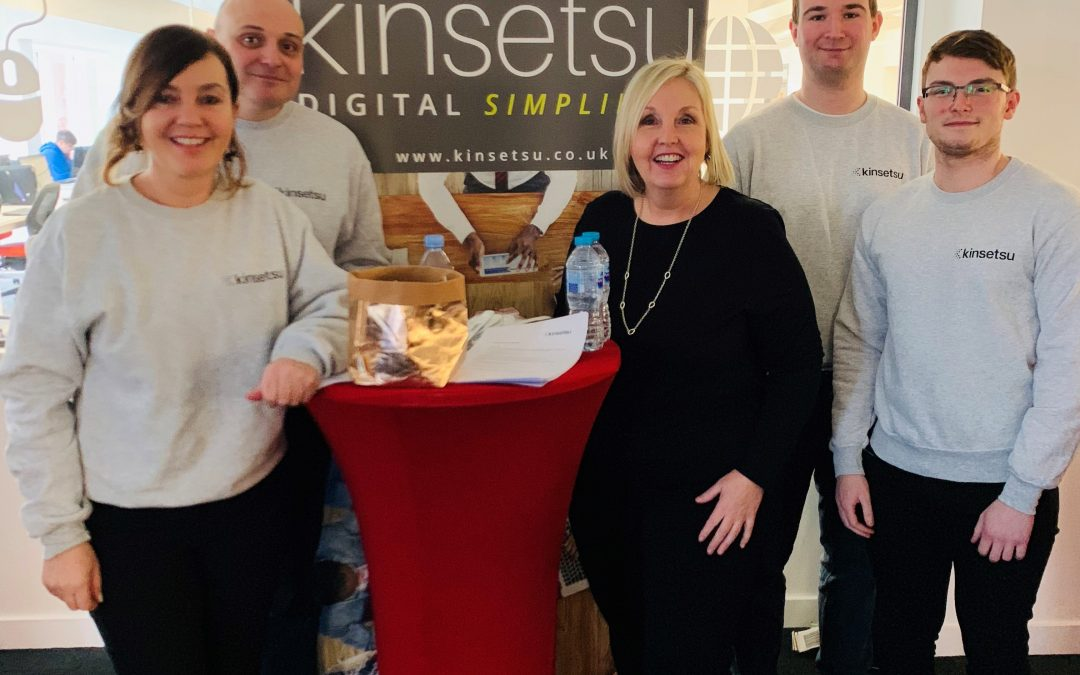 Kinsetsu attend Queen's University Job Fair